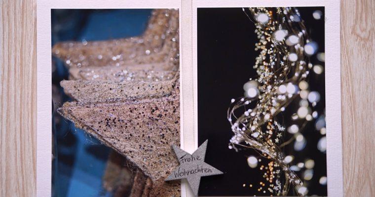 Foto-Weihnachtskarte gestalten