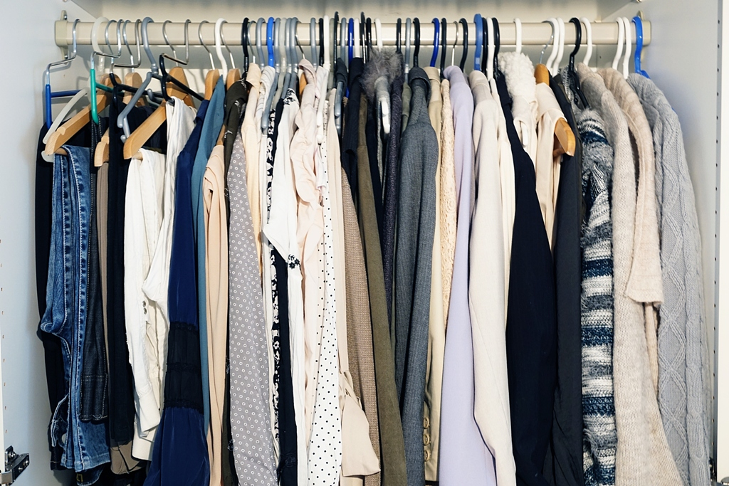 Frühlingsputz im Kleiderschrank