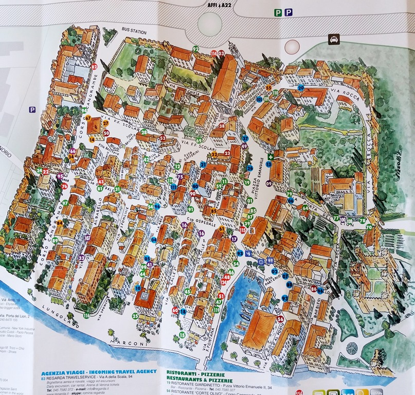 Karte Gardasee Lazise.Sommerferien Am Gardasee Unterwegs Mit Junior